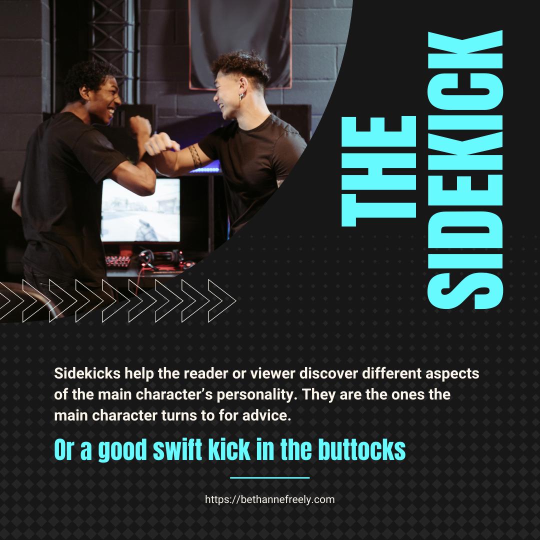 sidekicks high fiving